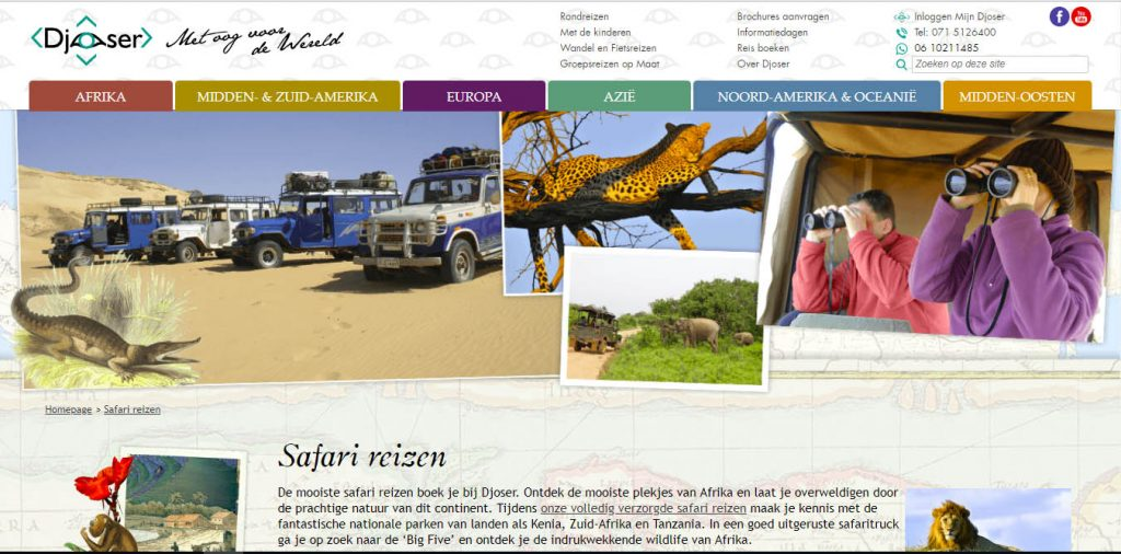 Djoser safari-reizen.nl