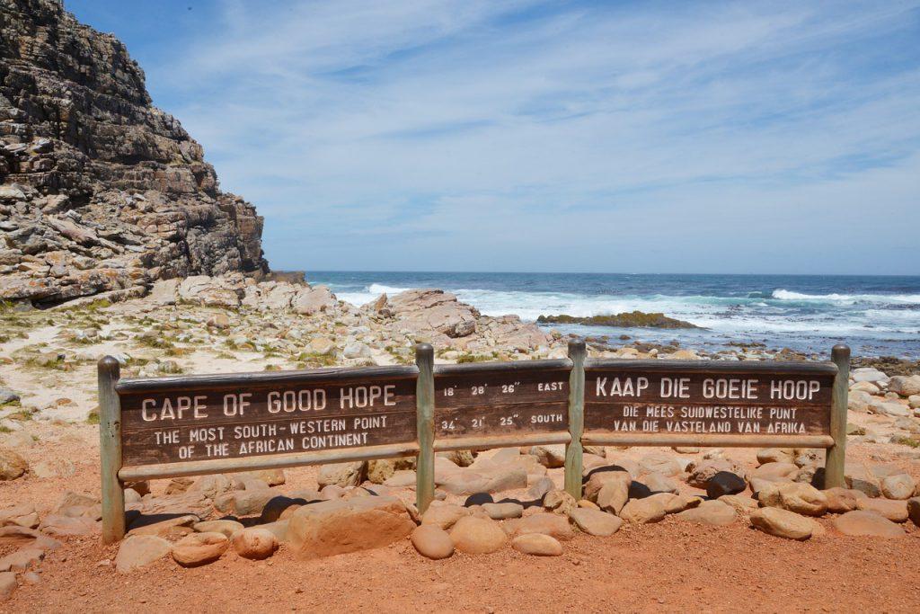Nationale parken Zuid Afrika Kaap de goede hoop