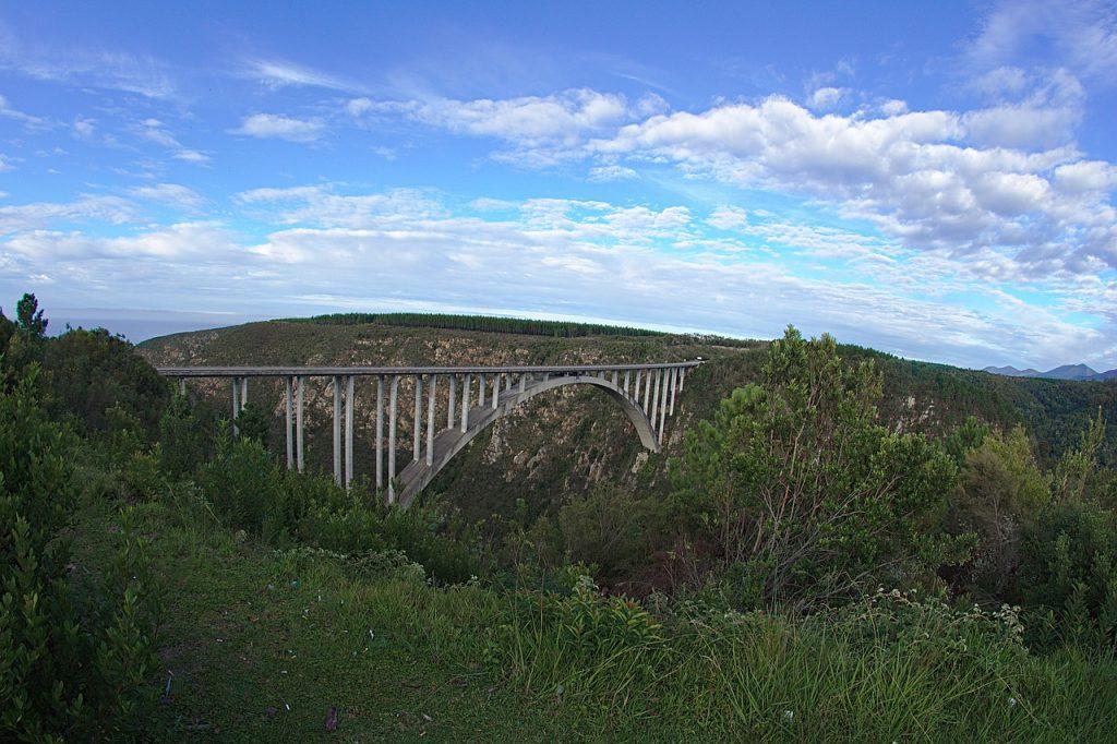 Nationale parken Zuid afrika Bloukrans bungee