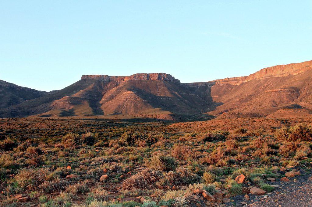 Nationale parken zuid afrika Karoo
