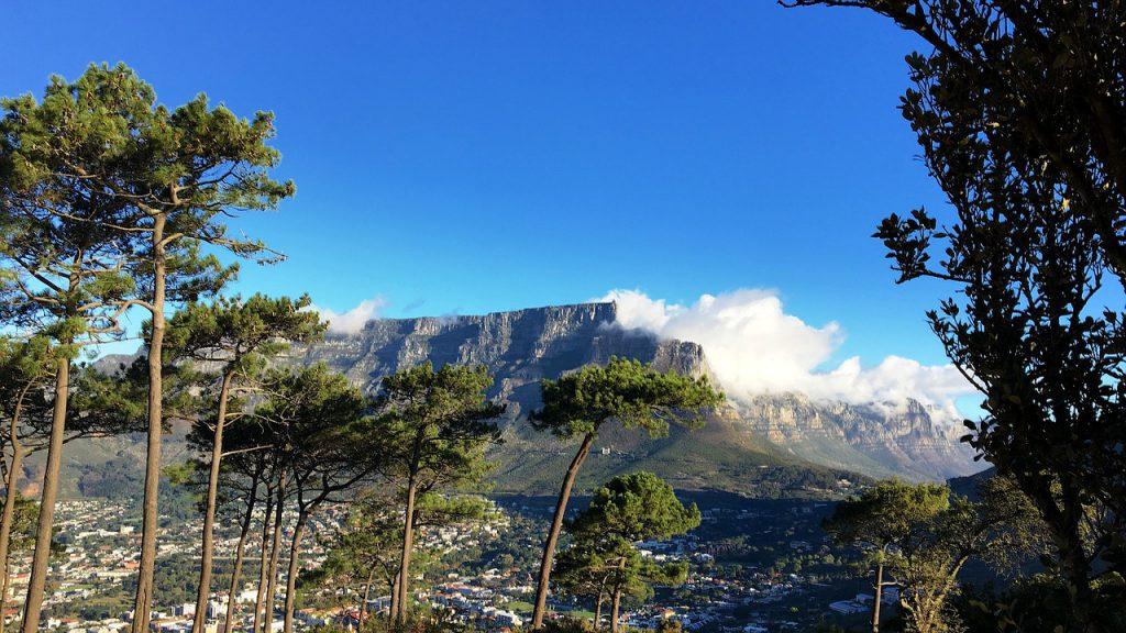 Nationale parken zuid afrika table mountain tafelberg kaapstad