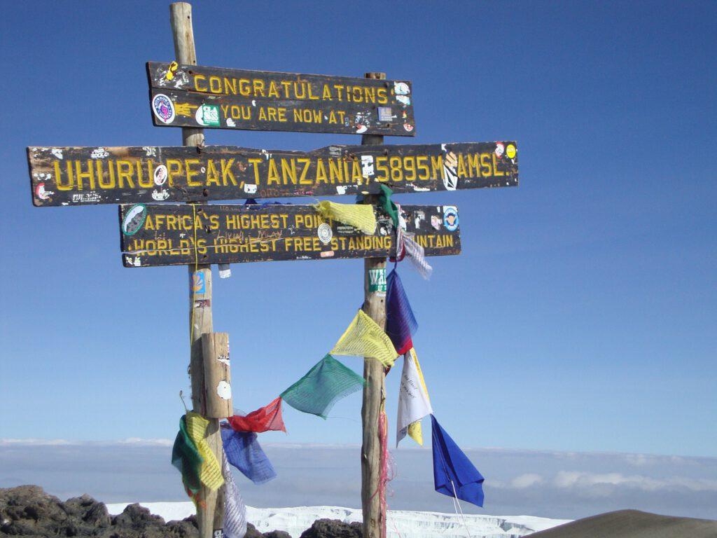 Beste reistijd Tanzania Kilimanjaro beklimmen