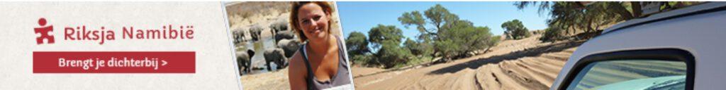 Banner Riksja Namibië